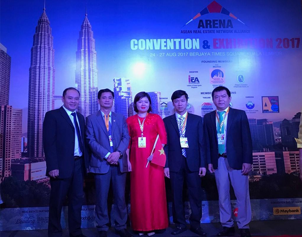 Phú Quý Land tham dự hội nghị và triển lãm liên minh kết nối BĐS khu vực Asean tại Kuala Lumpur, Malaysia