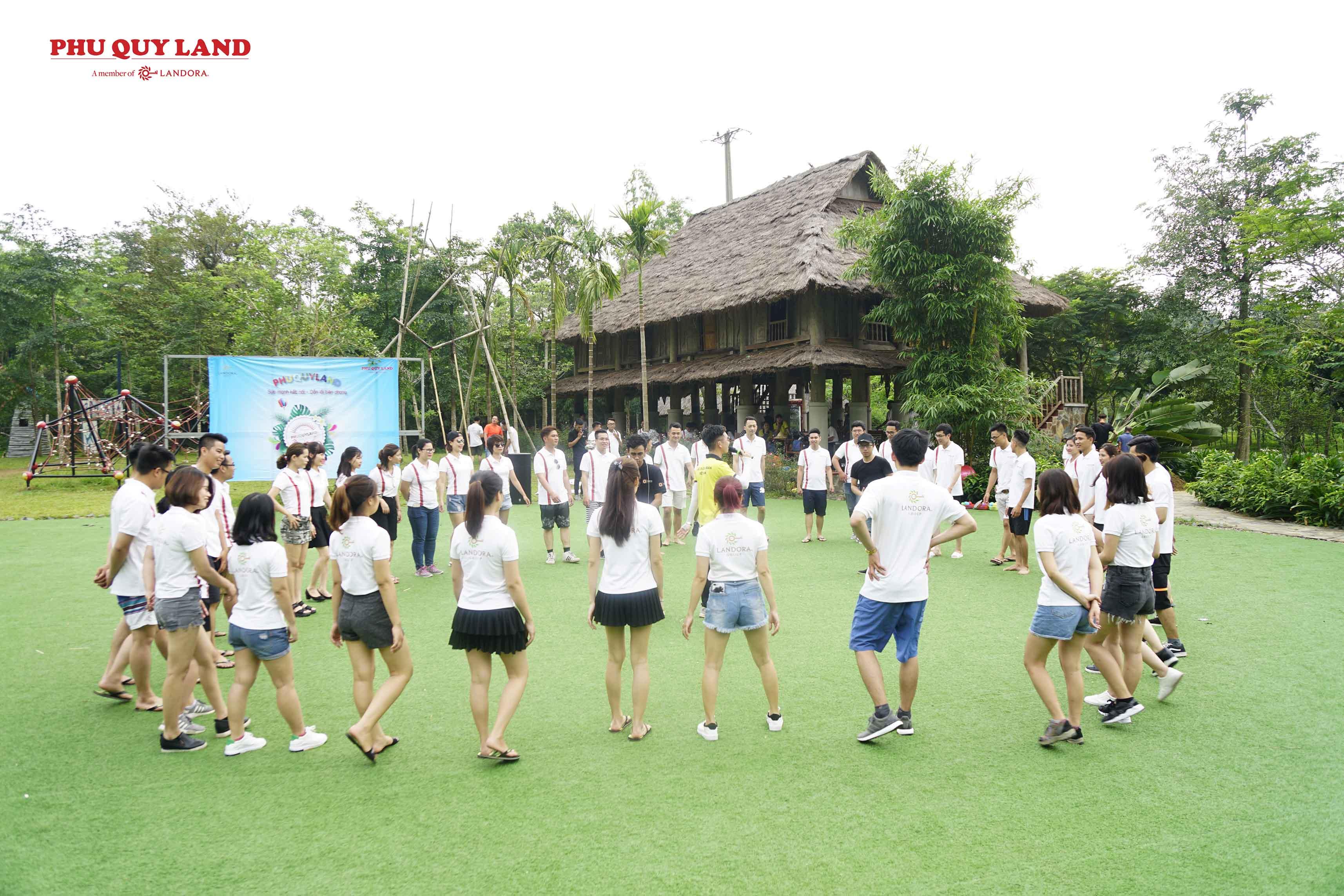 Hoạt động Teambuilding diễn ra tại khu nghỉ dưỡng nổi tiếng Serena Resort