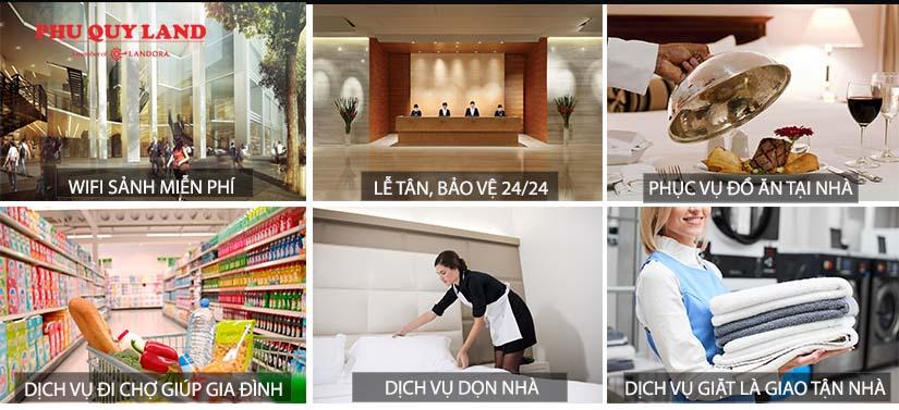 5 Seasons cung cấp cho cư dân dịch vụ tiêu chuẩn khách sạn 5 sao