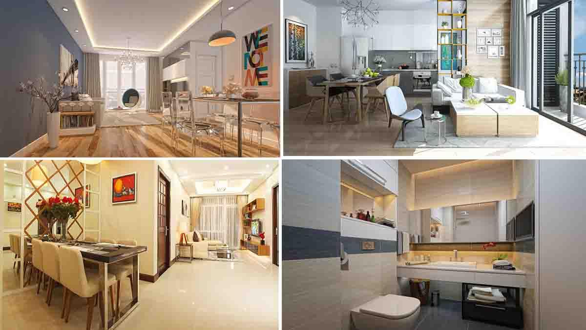 Một số hình ảnh nội thất tại dự án FLC Green Apartment