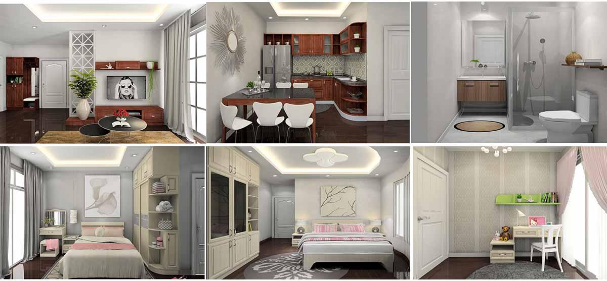 Không gian thiết kế nội thất của Gelexia Riverside