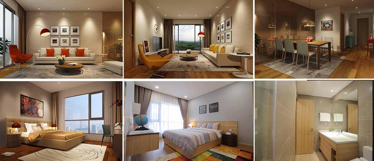 Nội thất căn hộ tại Sky Park Residence mang đến sự sang trọng, tinh tế, đẳng cấp