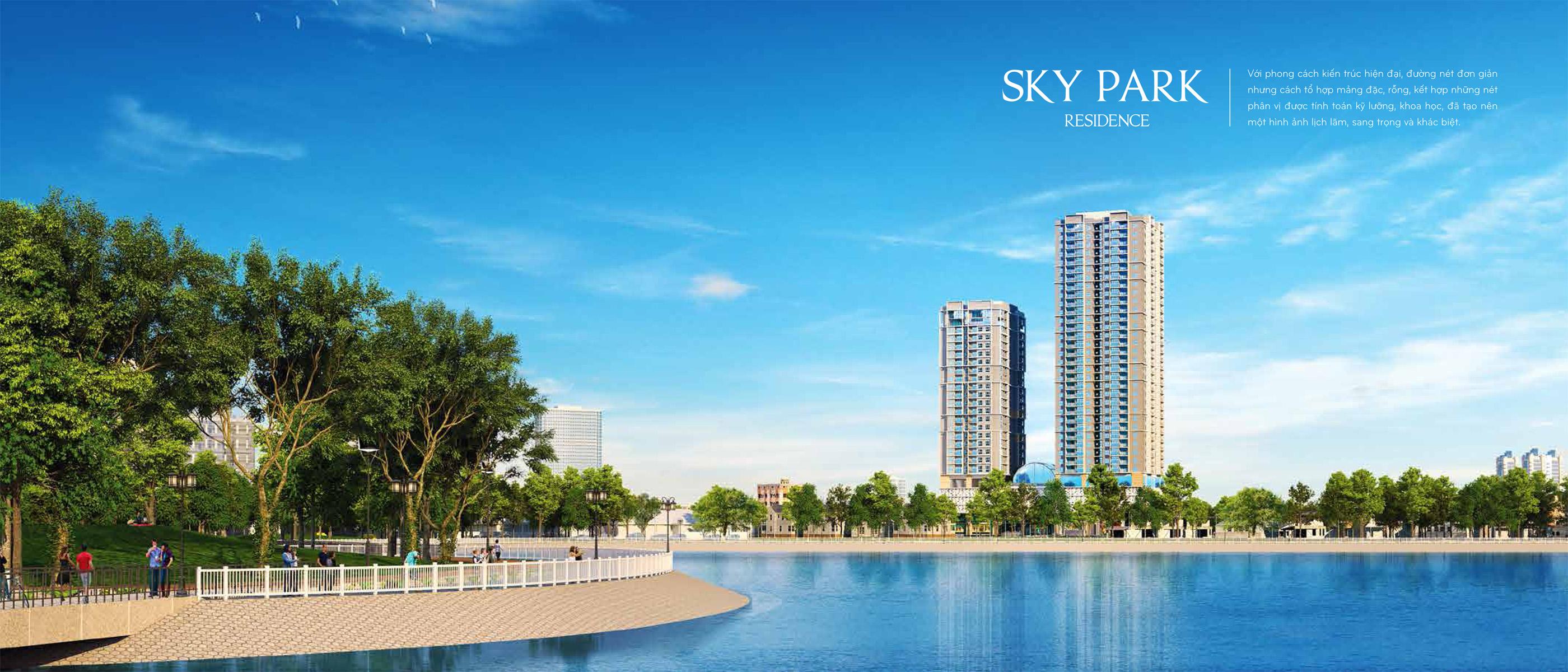 Sky Park Residence – Căn hộ Chuẩn cao cấp Cầu Giấy