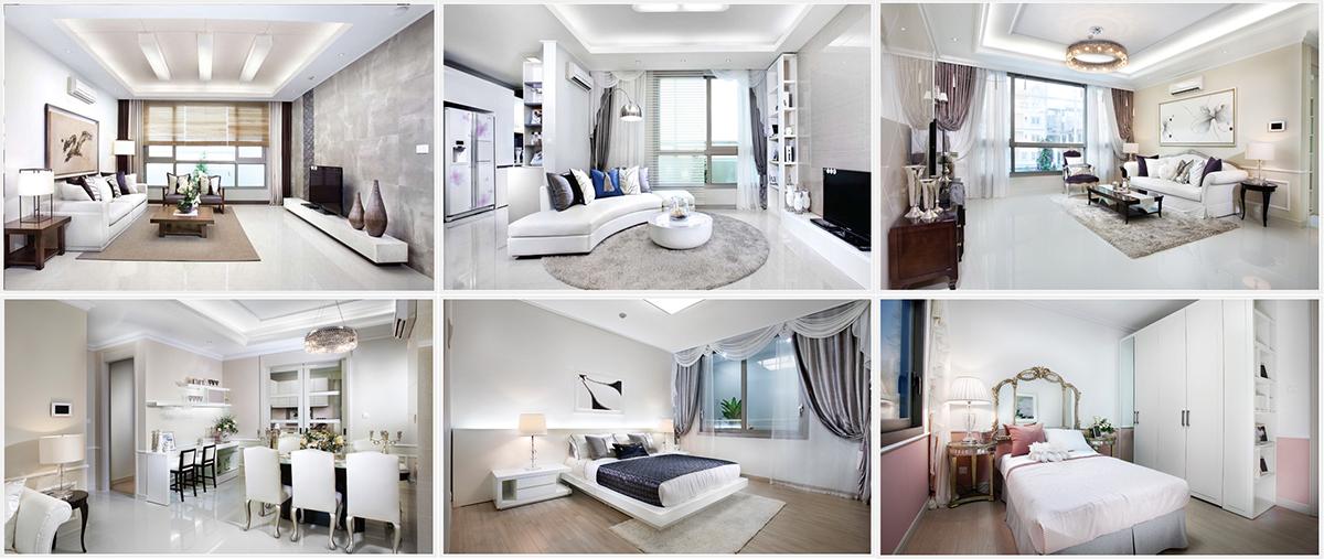 Thiết kế căn hộ ưu tiên sự thông thoáng, màu sắc tươi sáng, trang nhã