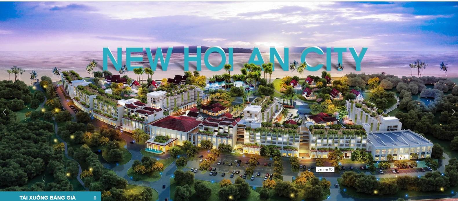 Phối cảnh dự án New Hội An City