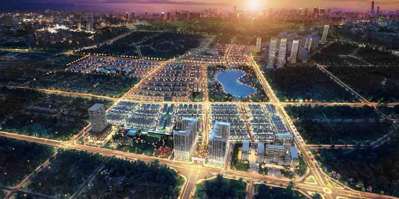 Toàn cảnh khu đô thị Dương Nội