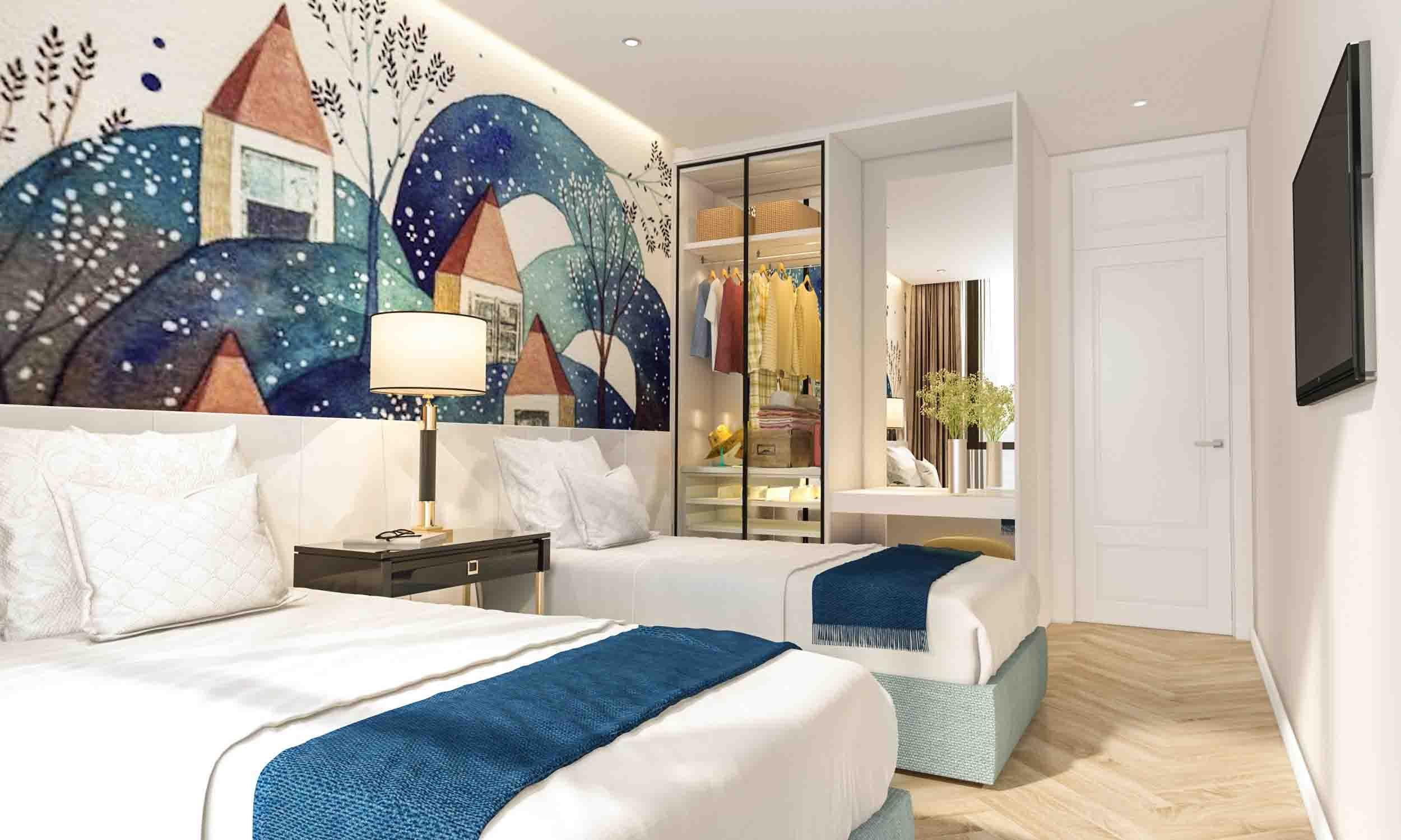 Chi tiết thiết kế trong căn hộ Coco Wonderland Resort