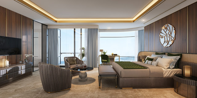 Thiết kế nội thất căn hộ với phong cách hoàng gia hiện đại