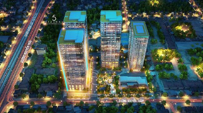 5 Season 47 Nguyễn Tuân – Căn hộ khách sạn tiêu chuẩn 5 sao