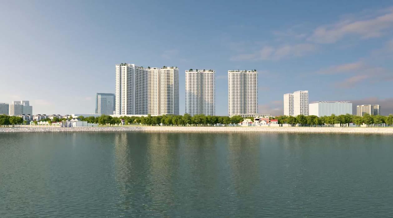 Dự án được điều hào không khí bởi công viên hồ điều hòa Yên Sở rộng 323ha