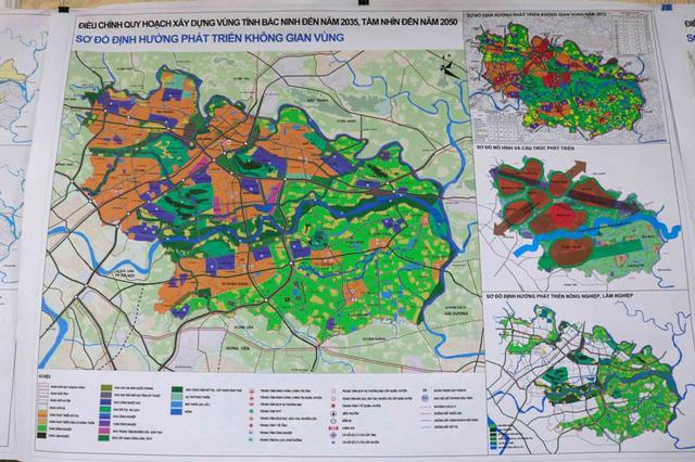 Bản đồ quy hoạch Bắc Ninh