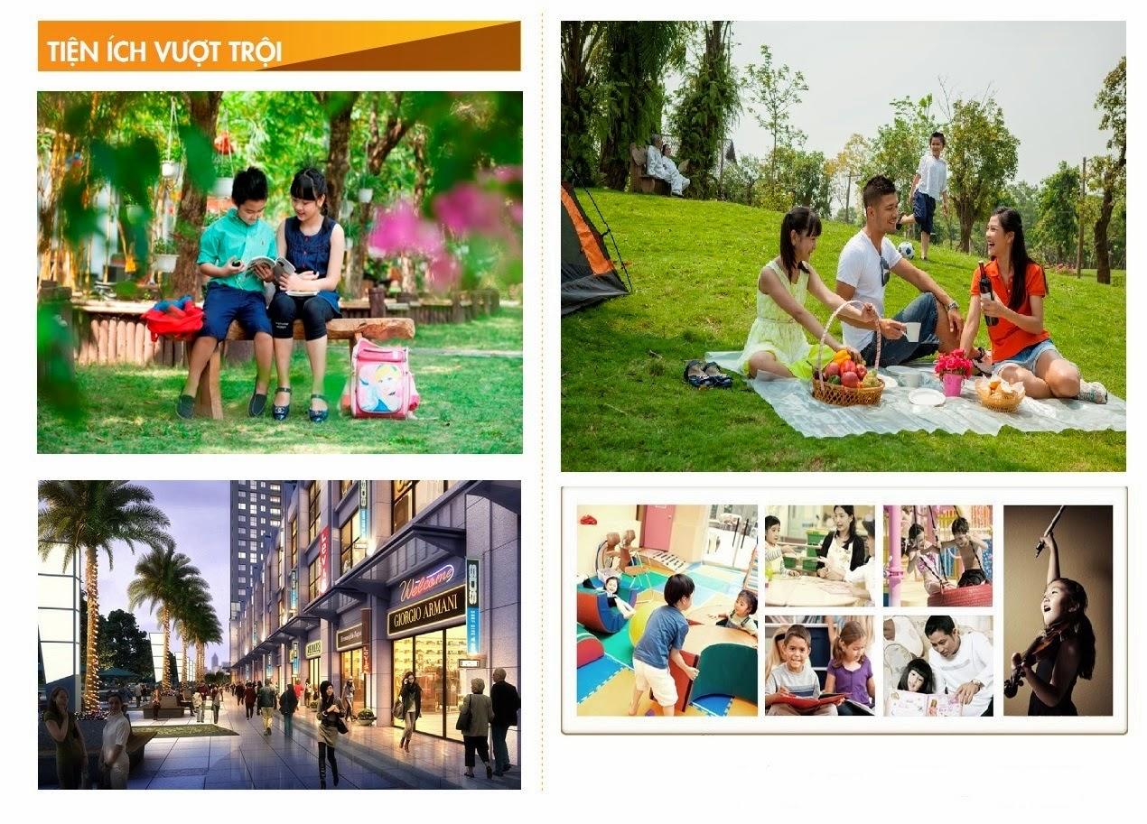Hoàng Ngân Plaza cung cấp cho cư dân những tiện ích nổi bật