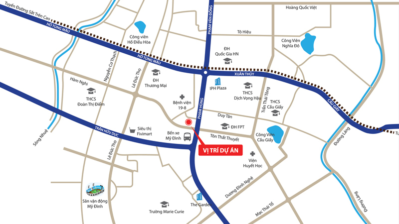 Tâm điểm kết nối giao thông, tiện ích tại trung tâm phía Tây thành phố