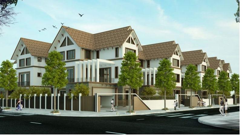 Mẫu thiết kế khu Biệt Thự