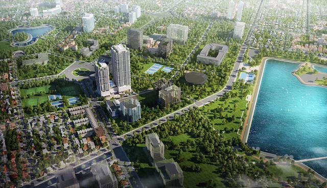Sky Park Residence – dự án chung cư duy nhất nằm trên đường Tôn Thất Thuyết, Cầu Giấy