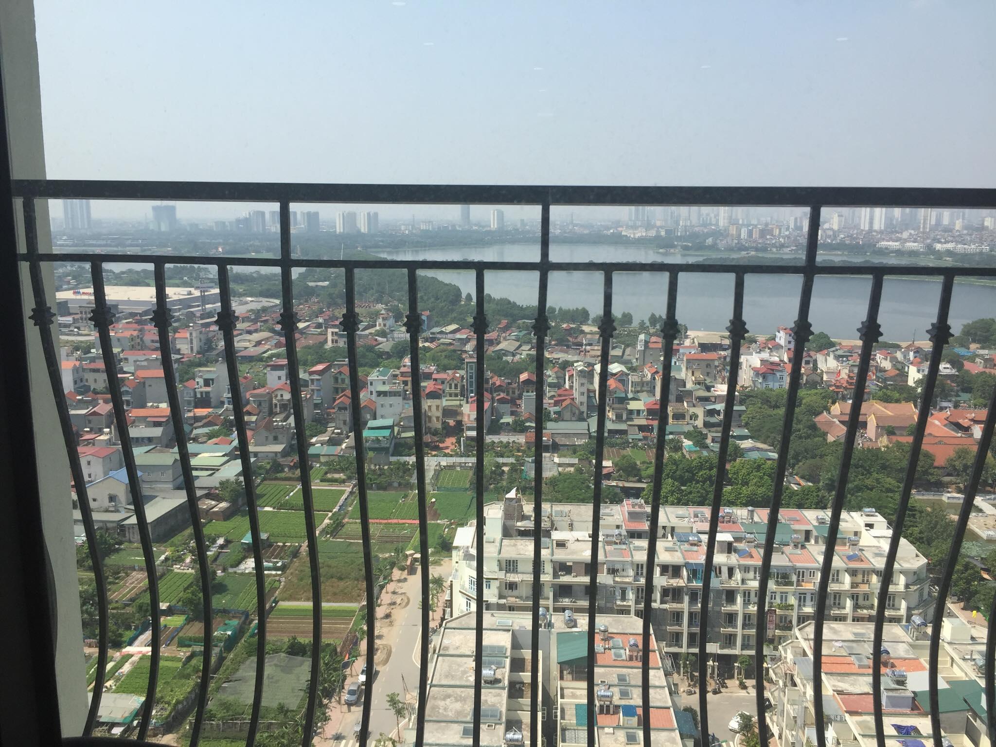 Các căn hộ đều nhìn view sông Hồng, hồ công viên Yên Sở