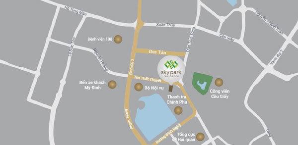 """Nơi đây sở hữu nhiều tuyến đường huyết mạch, trong đó có """"tam giác vàng"""" về tài chính - dịch vụ: Phạm Hùng, Tôn Thất Thuyết và Duy Tân."""