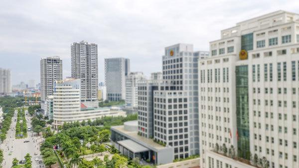 Được định hướng là trung tâm hành chính mới của Thủ đô, quận Cầu Giấy có quy hoạch đồng bộ với hạ tầng hiện đại, hoàn thiện.