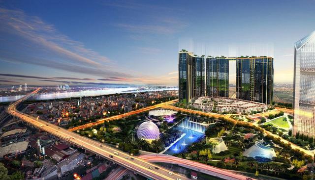 """Sunshine City là công trình đạt giải """"Nhà ở Hạng sang tốt nhất Việt Nam 2018"""" do Dot Property Vietnam Awards bình chọn."""