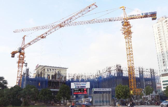 Golden Park Tower – ghi điểm nhờ tiến độ xây dựng