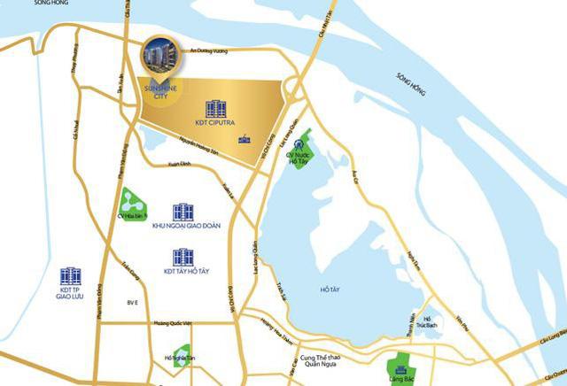 Quy hoạch đồng bộ khu vực Tây Hồ Tây