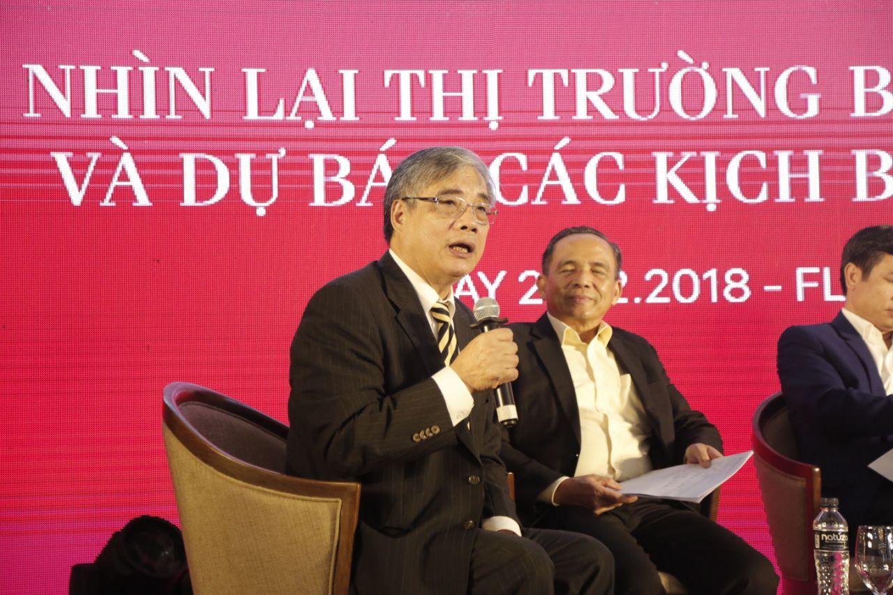 PGS.TS Trần Đình Thiên, nguyên Viện trưởng Viện Kinh tế Việt Nam, thành viên Tổ Tư vấn Kinh tế của Thủ tướng.
