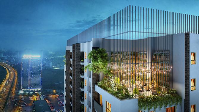 FLC Green Apartment nằm trên trục đường huyết mạch Phạm Hùng, khu vực phát triển sầm uất ở phía Tây Hà Nội
