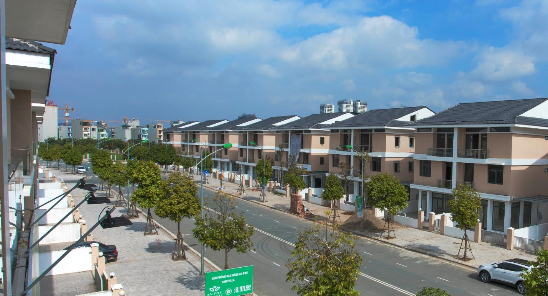 Dự án An Phú Shop-villa có mặt tiền rộng đến 27m