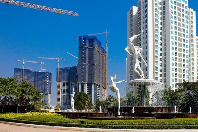 Ngoài vị trí, kiến trúc độc đáo, thiết kế hiện đại cũng là một trong những điểm nhấn đắt giá của Sunshine City.