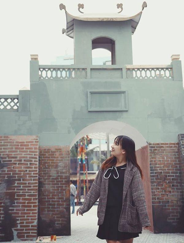 Cổng Ngọ Môn của kinh thành Huế uy nghi tại Cocobay Đà Nẵng. (Ảnh: Dulichdanang24h)