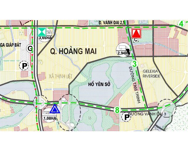 Quận Hoàng Mai được đầu tư đồng bộ hạ tầng giao thông
