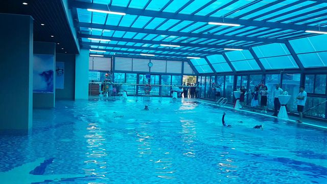 Dự án sở hữu hai bể bơi bốn mùa rộng lớn. Hiện tại các bể bơi này đã đi vào hoạt động và phục vụ cư dân.