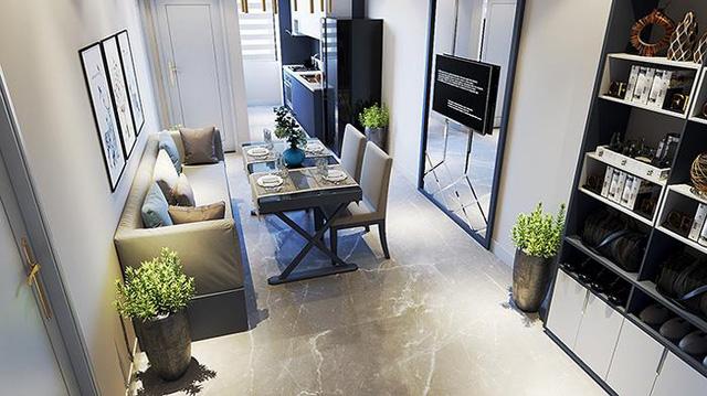 Thiết kế căn hộ tối ưu phù hợp với nhiều đối tượng khách hàng.