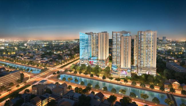 Hinode City – điểm nhấn mới của bất động sản Hà Nội
