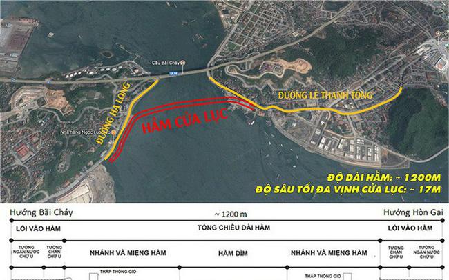 Quảng Ninh: Thông tin mới về dự án hầm vượt vịnh Cửa Lục gần 10.000 tỷ đồng