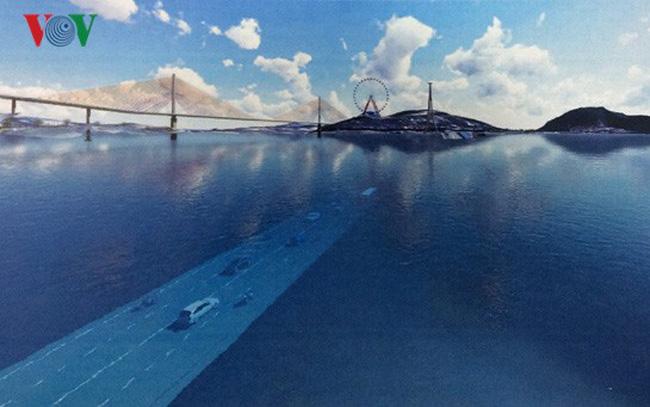 9.800 tỷ đồng làm hầm đường bộ vượt biển lớn nhất Việt Nam