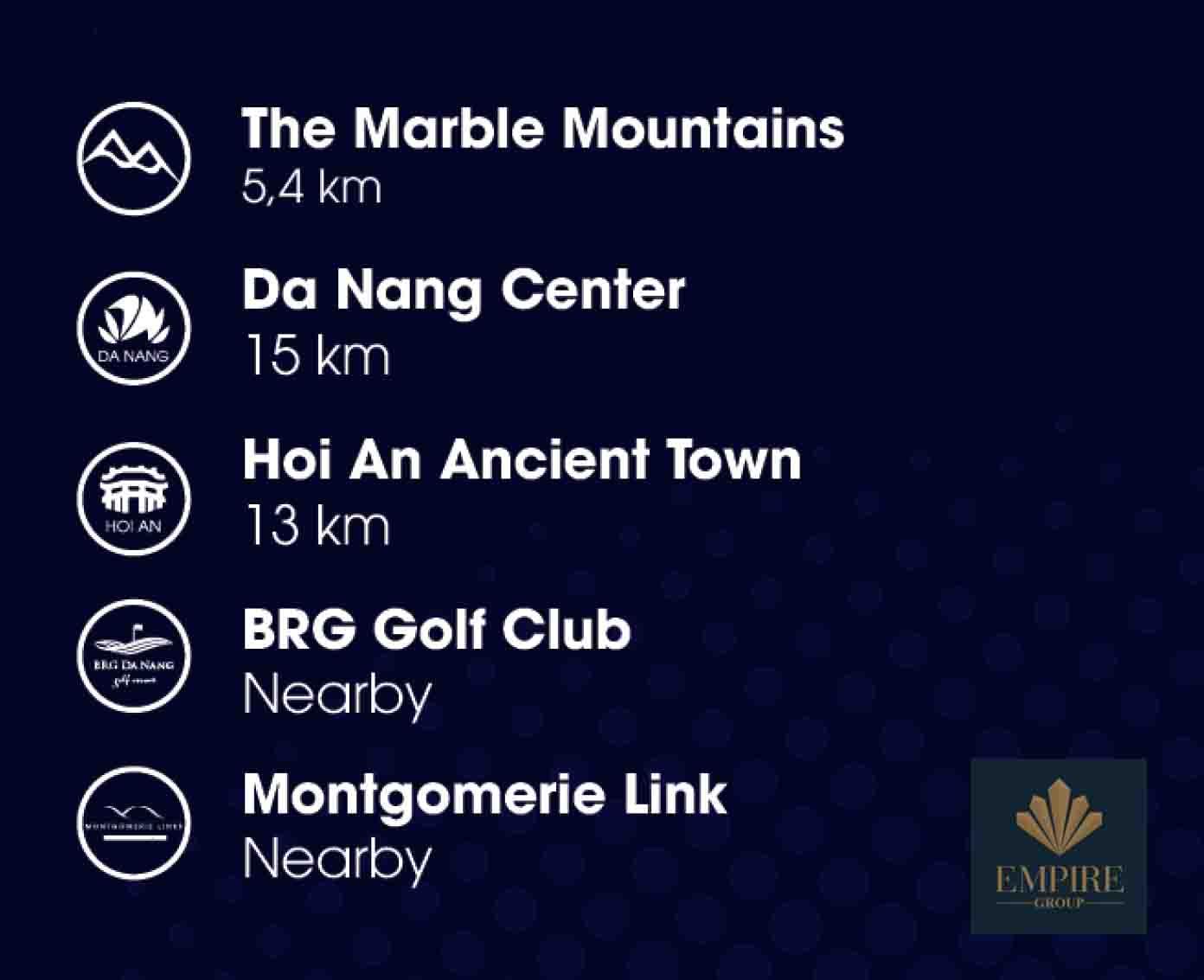 Namanhomes kết nối nhanh chóng những điểm du lịch nổi tiếng hàng đầu Đà Nẵng