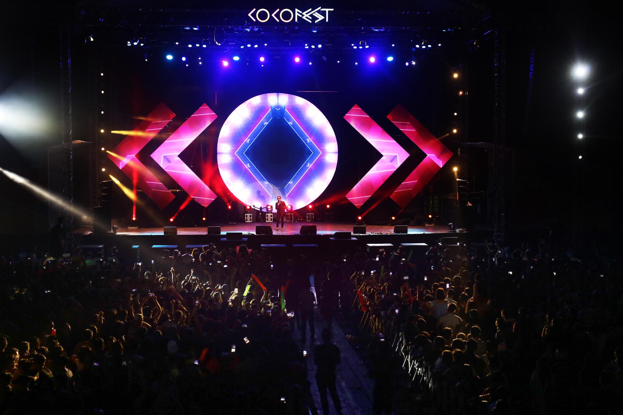 Lễ hội âm nhạc, ánh sáng được tổ chức thường niên tại đây