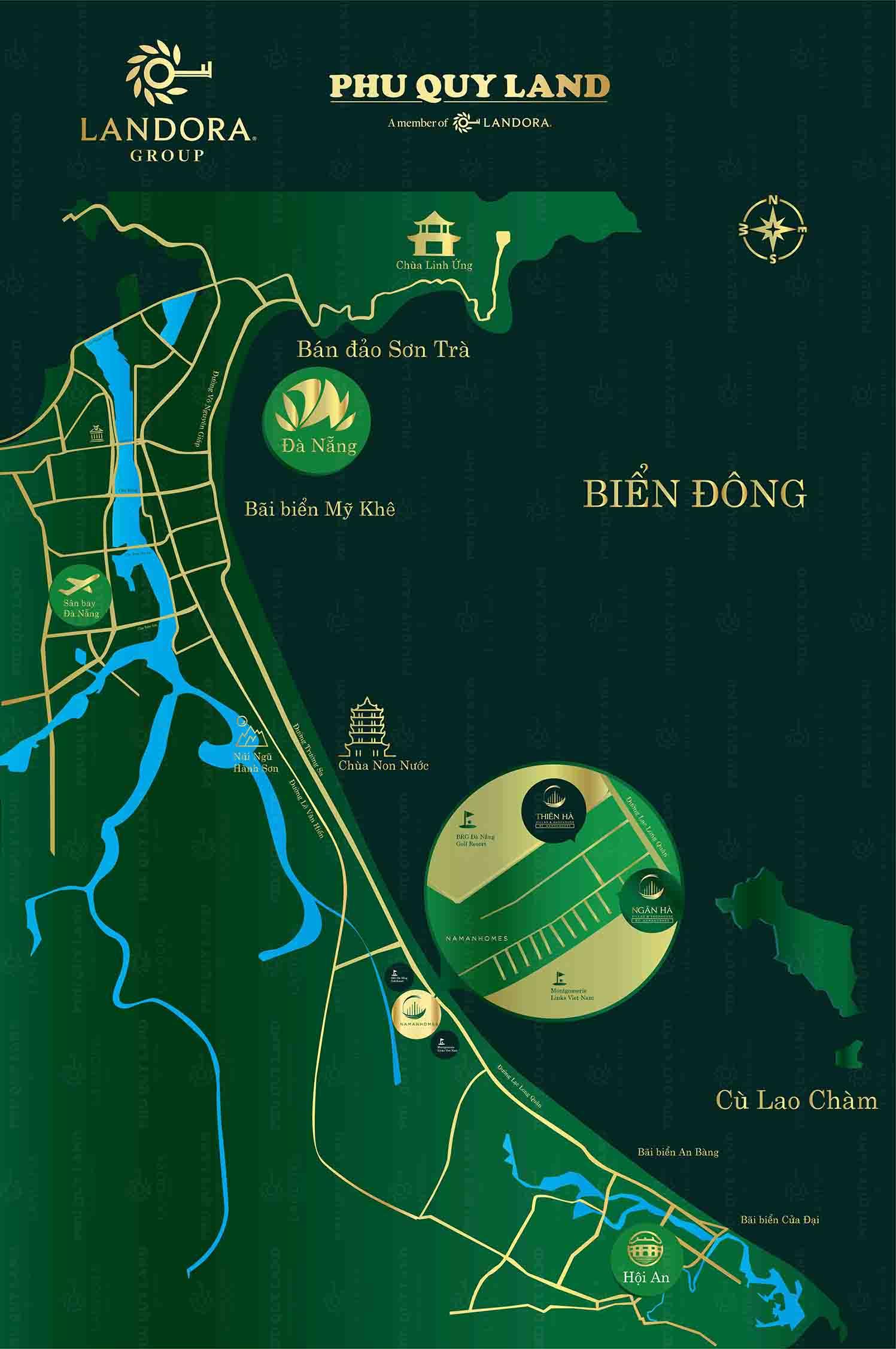 Vị trí đắc địa tại trung tâm du lịch Đà Nẵng - Hội An