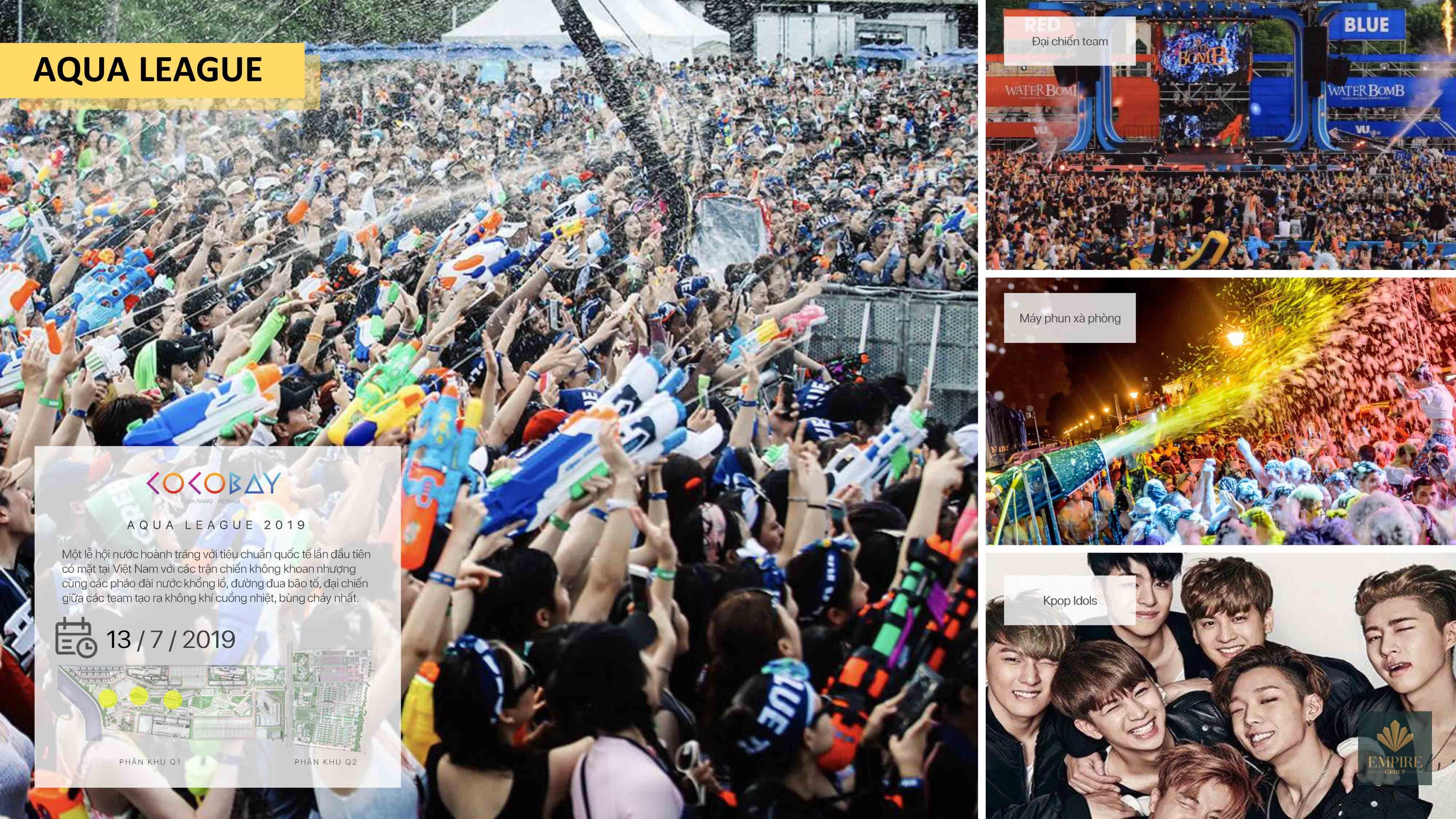 Lễ hội nước hoành tráng lần đầu tiên xuất hiện tại Việt Nam
