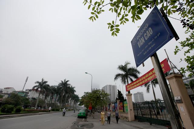 Hà Nội sẽ xén dải phân cách, mở rộng mặt đường Liễu Giai, Văn Cao