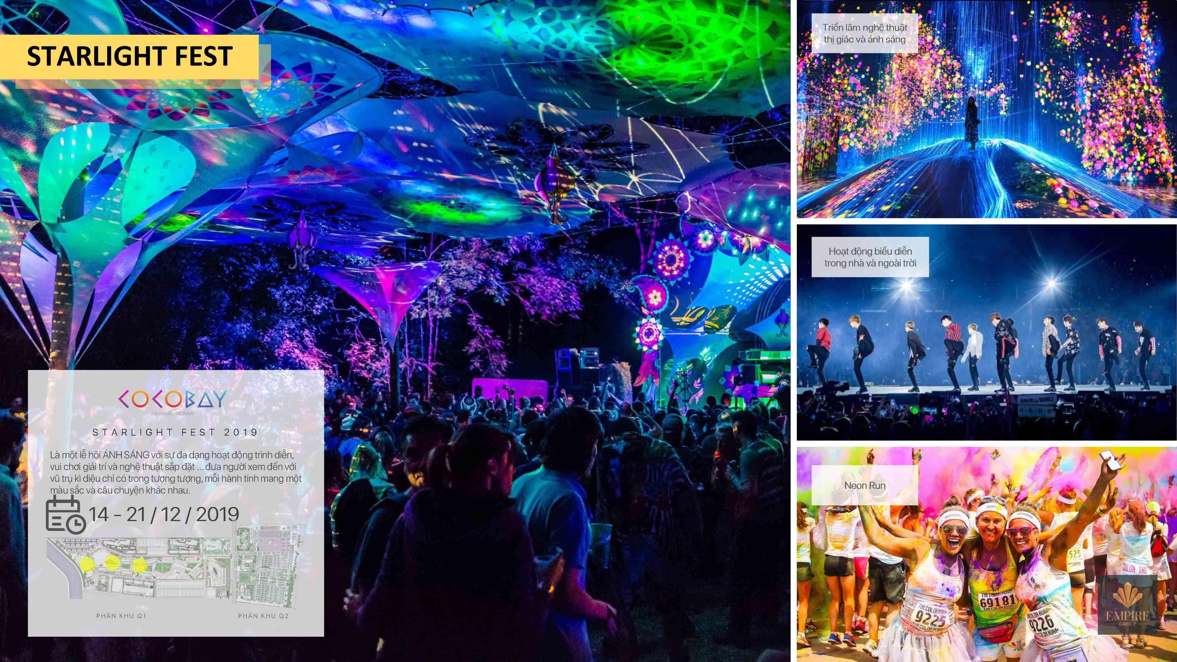 Lễ hội sắc màu tại Starlight Fest