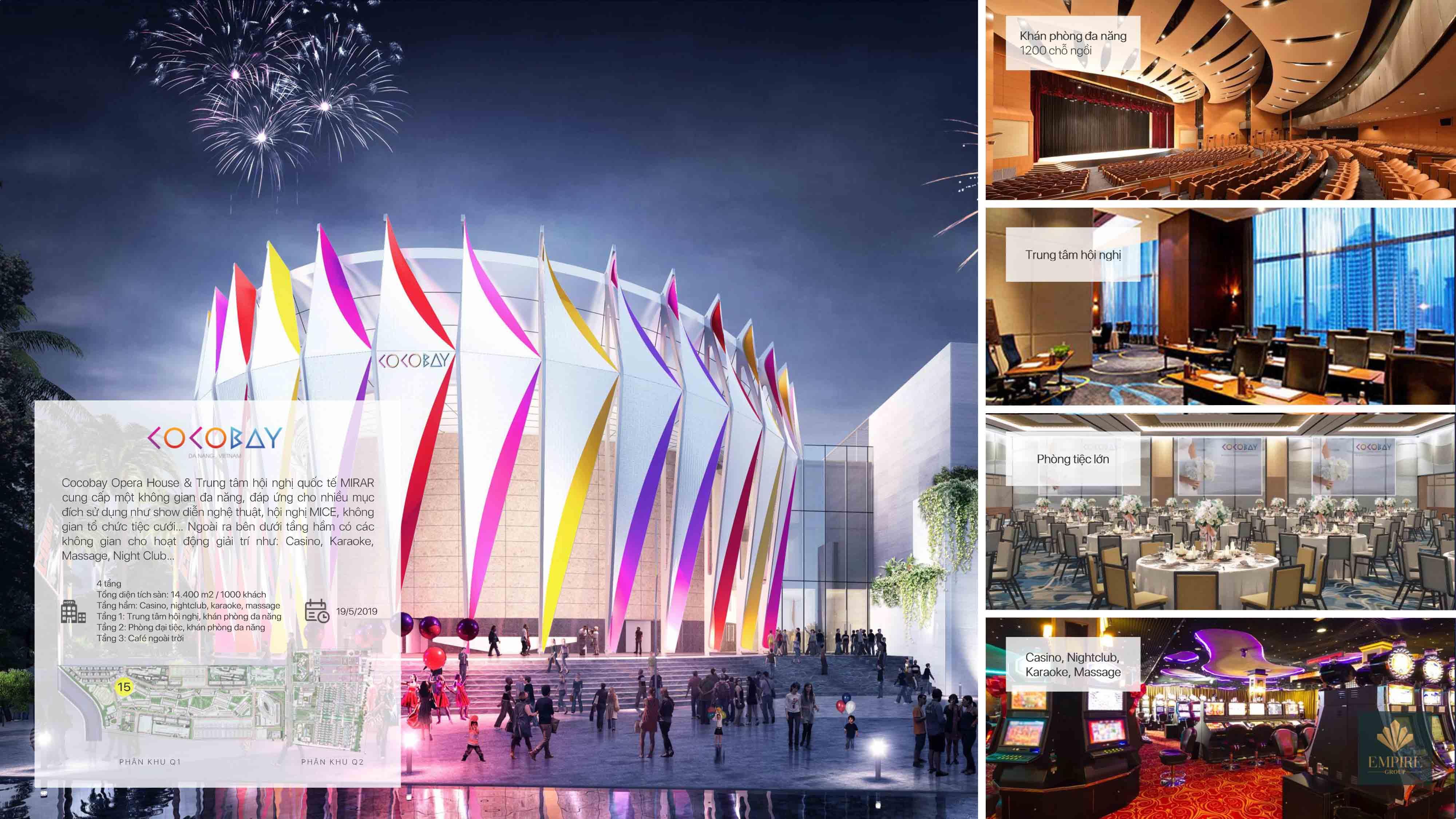 Chuỗi tiện ích đẳng cấp hội tụ từ những kinh đô giải trí Las Vegas, Pattaya ...