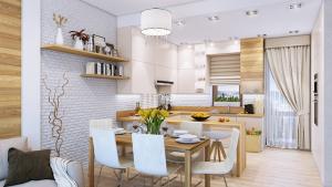 Các căn hộ được thiết kế tỉ mỉ đem lại sự thuận tiện tối đa cho người sử dụng đồng thời giúp căn hộ đón được nhiều ánh sáng tự nhiên nhất.