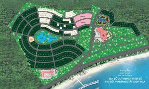Bản đồ quy hoạch dự án.