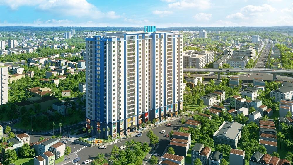 Chung cư amber riverside – Tổ hợp văn phòng thương mại dịch vụ và căn hộ cao cấp