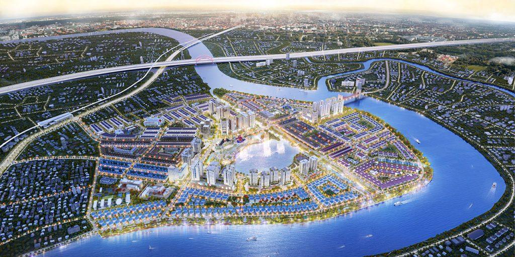 """Khu đô thị Vạn Phúc City – Kiệt tác """"vàng"""" ven sông Sài Gòn"""