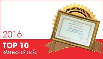PHUQUYLAND nhận giải Top 10 sàn giao dịch BĐS xuất sắc nhất năm 2016