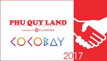 Tháng 5/2017, PHUQUYLAND hợp tác cùng Empire Group trong dự án Cocobay với vai trò đại lý chiến lược