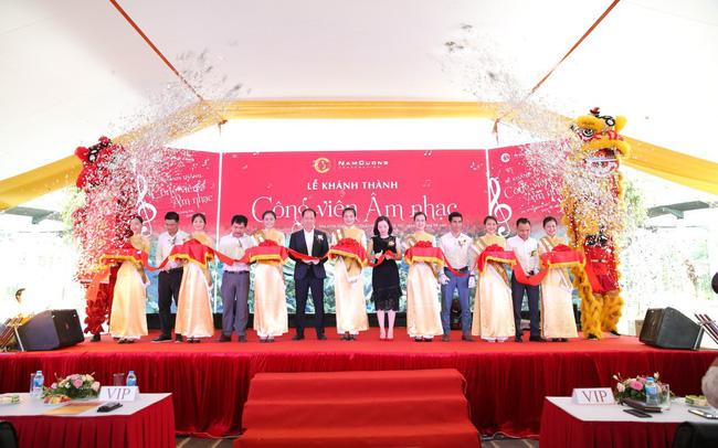 Hàng trăm khách mời và cư dân đến tham dự Lễ Khánh thành Công viên Âm nhạc
